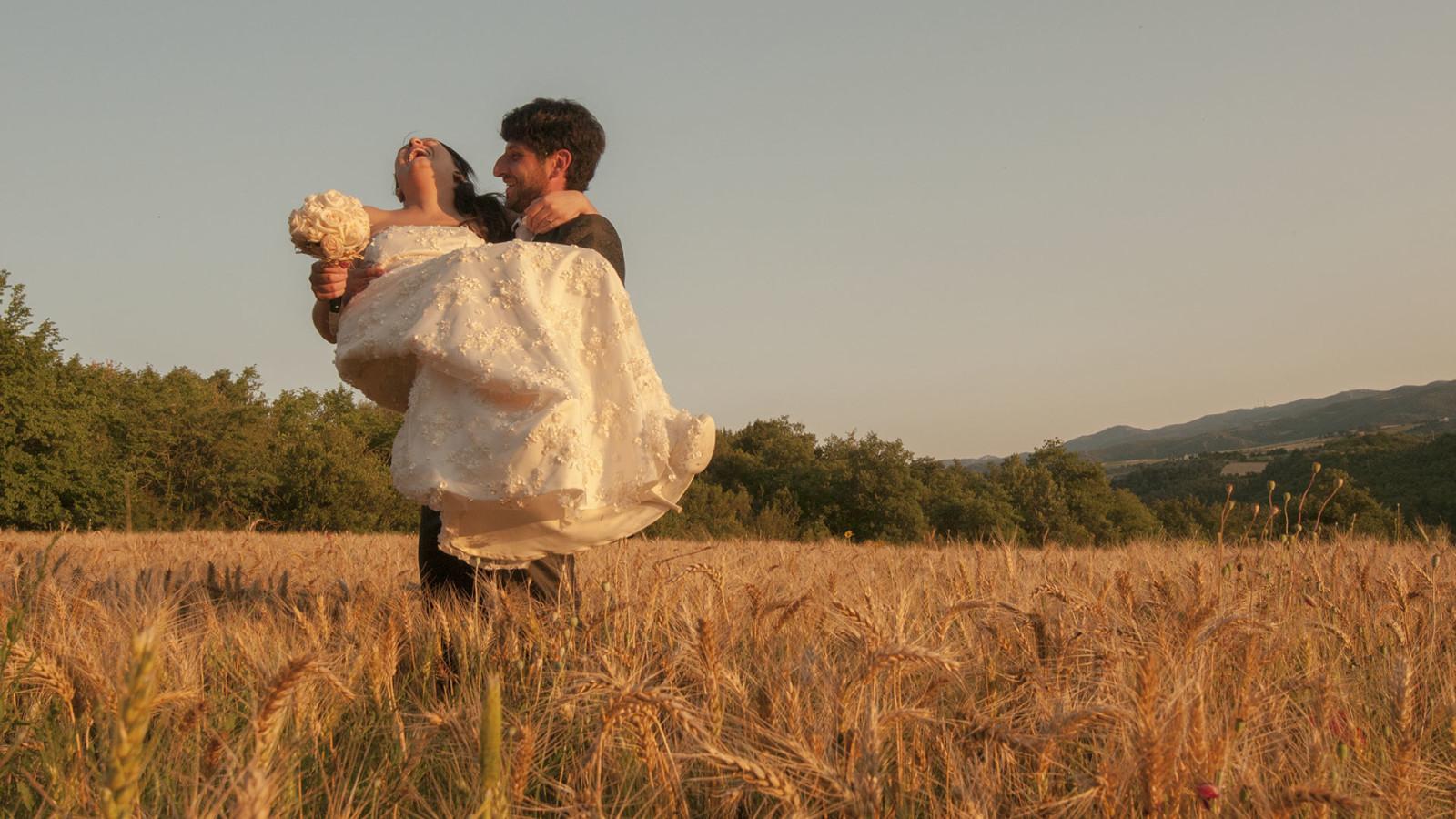 bimbi al matrimonio