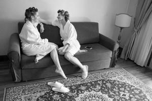 la sposa e la sorella