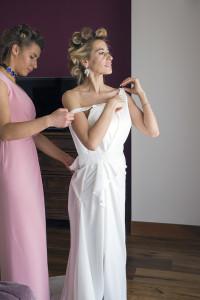 vestitura della sposa